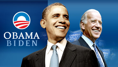 Obama and Biden 